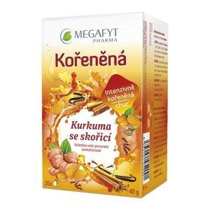Megafyt Kořeněná Kurkuma se skořicí porcovaný čaj 20x2 g