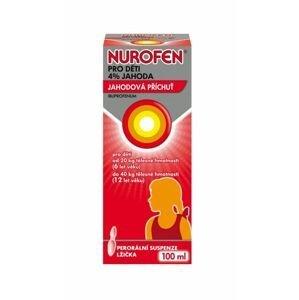 Nurofen pro děti 4 % jahoda suspenze 100 ml