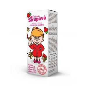 Doktorka Sirupová kalciová Jahody s vanilkou 100 ml
