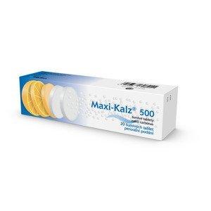 Maxi-Kalz 500 mg 20 šumivých tablet