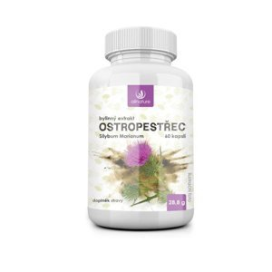 Allnature Ostropestřec bylinný extrakt 60 kapslí