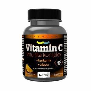 Vitamin C 500 mg Imunita komplex kurkuma + zázvor 60 tablet