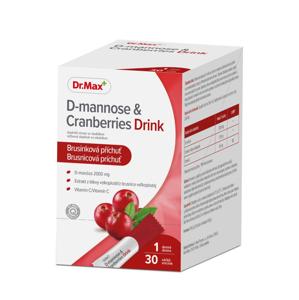 Dr.Max D-mannose & Cranberries Drink 30 sáčků