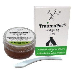 TraumaPet Ag Zubní gel se stříbrem 5 ml