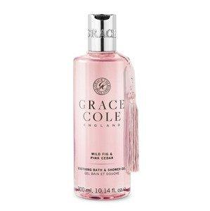 Grace Cole Wild Fig & Pink Cedar sprchový gel 300 ml