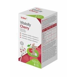 Dr.Max Vitalolly Cherry s lišejníkem, šalvějí a vitaminem C 6 lízátek