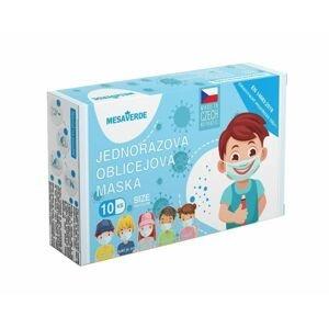 Mesaverde Dětská obličejová maska pro kluky 10 ks