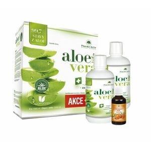 Pharma Activ AloeVeraLife 1+1 2x1000 ml + 100% Rakytníkový olej 50 ml