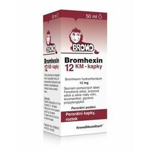 Bromhexin 12 KM kapky 50 ml