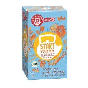Teekanne Organics BIO Start your day čaj porcovaný 20x1,8 g