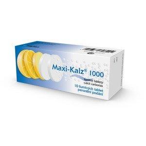 Maxi-Kalz 1000 mg 10 šumivých tablet