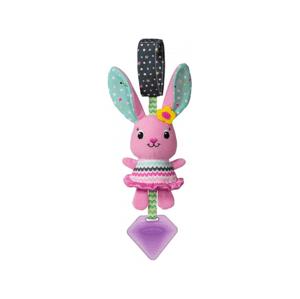Infantino Závěsný cinkající králíček