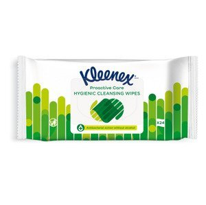 Kleenex Antibacterial Wet Wipes antibakteriální vlhčené ubrousky 24 ks