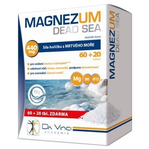 Da Vinci Academia Magnezum Dead Sea 80 tablet