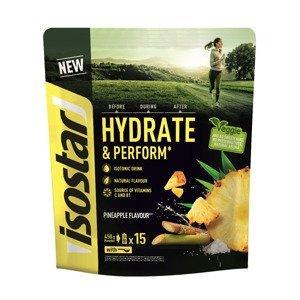 Isostar Hydrate & Perform ananas isotonický práškový nápoj 450 g