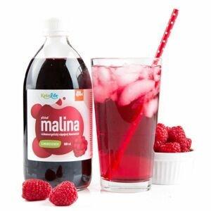 KetoLife Nízkoenergetický nápojový koncentrát s imuregenem malina 500 ml