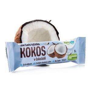 KetoLife Low Carb tyčinka Kokos v čokoládě 55 g