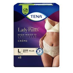 Tena Lady Pants Plus Creme Large inkontinenční kalhotky 8 ks