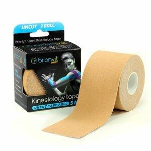 BronVit Sport Kinesio Tape classic 5 cm x 5 m tejpovací páska béžová