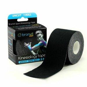 BronVit Sport Kinesio Tape classic 5 cm x 5 m tejpovací páska černá