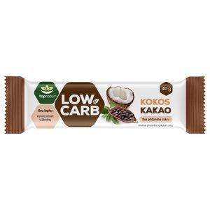 Topnatur Low Carb Tyčinka kokos&kakao 40 g