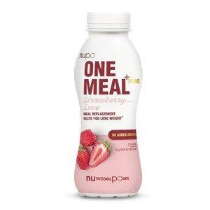 NUPO One Meal + Prime Jahoda hotový nápoj 330 ml