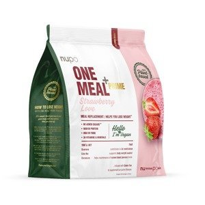 NUPO One Meal + Prime Jahoda nápoj v prášku 360 g