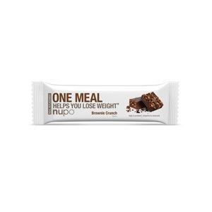 NUPO One Meal Křupavé brownie tyčinka 60 g