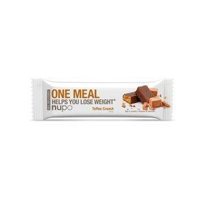 NUPO One Meal Křupavý karamel tyčinka 60 g