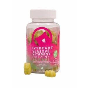IvyBears Vlasové vitamíny pro ženy Zdraví želé medvědi 60 ks