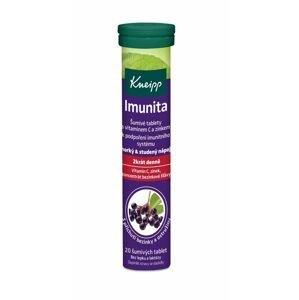 Kneipp Imunita + vitamin C + Zn černý bez a ostružina 20 šumivých tablet