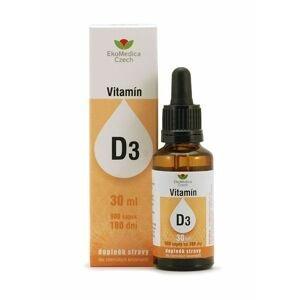 Ekomedica Vitamín D3 kapky 30 ml