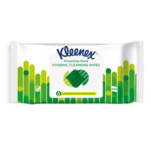 Kleenex Antibacterial Wet Wipes antibakteriální vlhčené ubrousky 40 ks