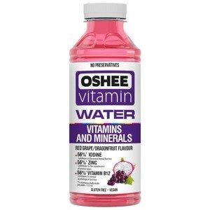 OSHEE Vitamínová voda minerály & vitamíny hrozen–pitaya 555 ml