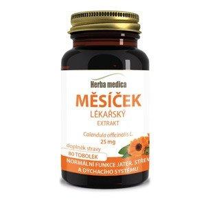Herbamedica Měsíček lékařský extrakt 25 mg 80 tobolek