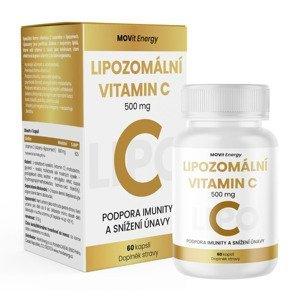 MOVit Energy Lipozomální Vitamin C 500 mg 60 kapslí