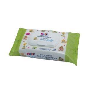 Hipp BabySanft Vlhčený toaletní papír ULTRA SENSITIVE 50 ks