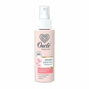 Onclé Biorganic Intimní čisticí bezoplachový olej 100 ml