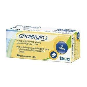 ANALERGIN 10MG potahované tablety 50