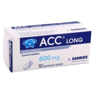 ACC LONG 600MG šumivé tablety 10