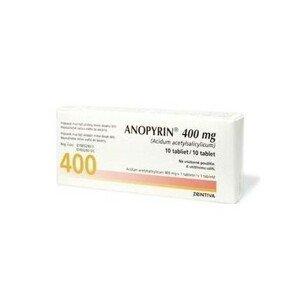 ANOPYRIN 400MG neobalené tablety 10