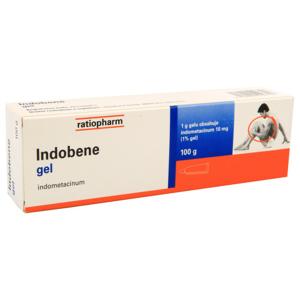 INDOBENE 10MG/G gel 100G