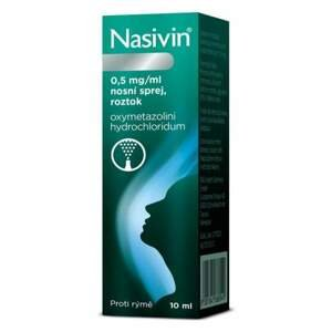 Nasivin (0,5 mg/ml nosní sprej, roztok)