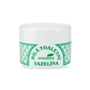 AROMATICA Bílá toaletní vazelína s vit.E 100ml
