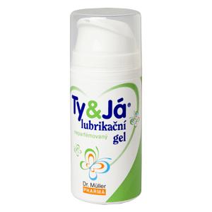 Lubrik.gel Ty&Já neparfemovaný 100ml Dr.Müller