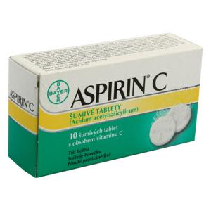 ASPIRIN C 400MG/240MG šumivá tableta 10