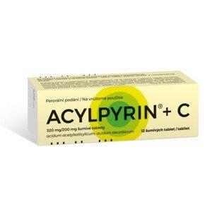 ACYLPYRIN + C 320MG/200MG šumivá tableta 12