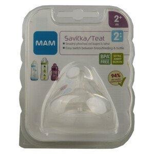 MAM Savička na lahev V2 střední průtok 2+m. 1ks