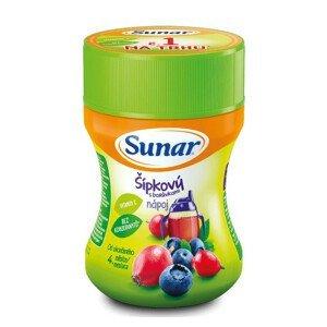 Sunar rozpustný nápoj šípkový s borůvkami 200g