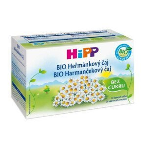HiPP ČAJ SÁČK.BIO Heřmánkový čaj 20x1.5g C-110